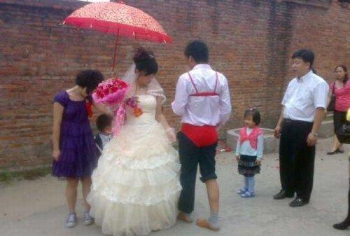 Странная китайская свадьба