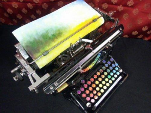 Цветная печатная машинка