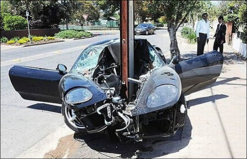 Сумасшедшие аварии и дорожные инциденты