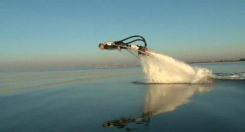 Реактивный водный ранец от Фрэнки Запата