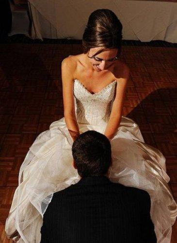 Невесты что у них под платьем