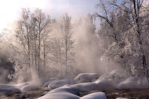 Неповторимые зимние пейзажи
