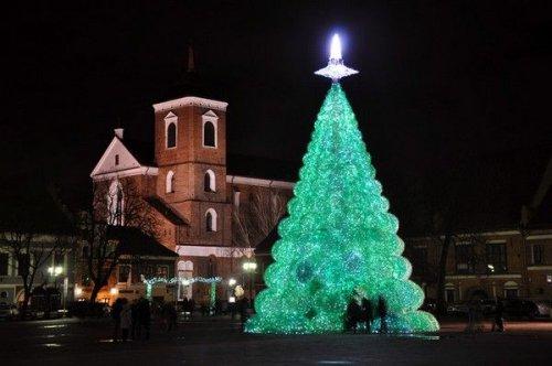 Креативные новогодие елки
