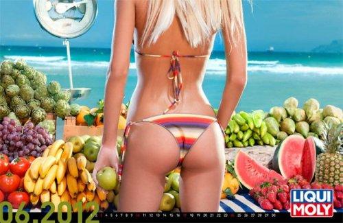 Эротические календари 2012 года
