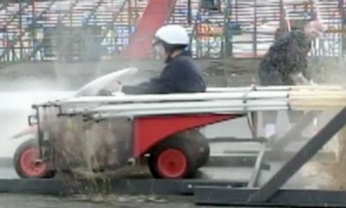 Автомобиль, работающий на Кока-Коле и Ментос