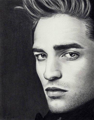 Портреты знаменитостей в карандаше