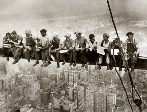 Как строились небоскребы Нью-Йорка