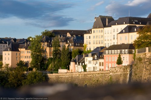 Путешествие по Герцогству Люксембург