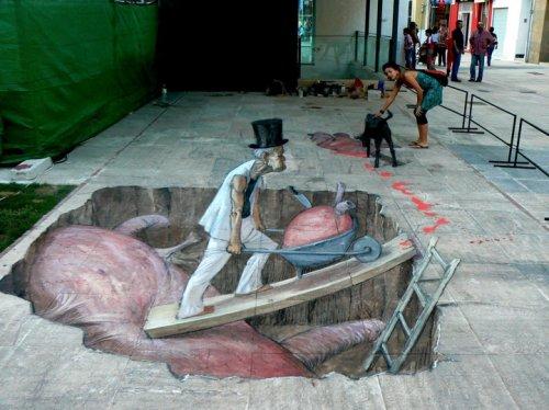 3D-иллюзии от Эдуардо Релеро