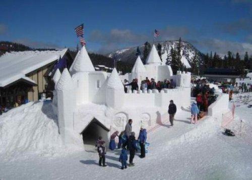 Снежные баррикады