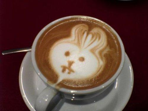 Узоры на кофе