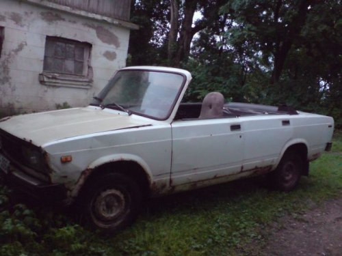Самодельный кабриолет