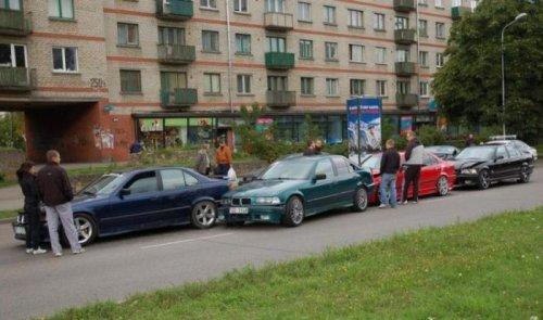 Встреча любителей BMW