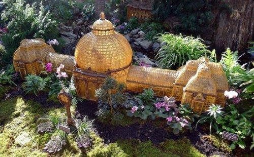 Миниатюрная выставка в Нью-Йоркском ботаническом саду