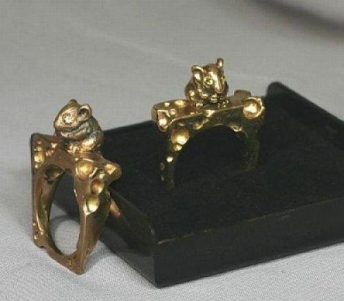 Креативные обручальные кольца