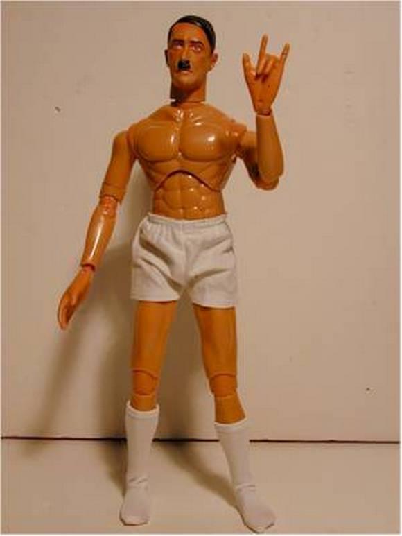Кукла гитлера своими руками