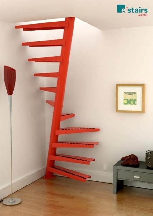 Лестница на второй этаж винтовая своими руками