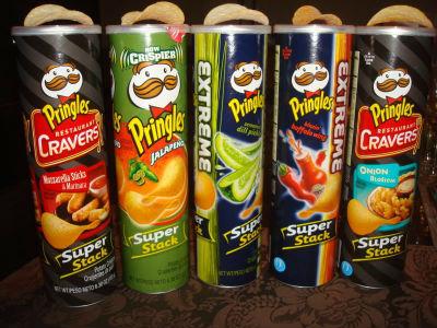 Productos desconocidos de marcas famosas.