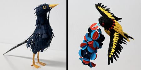 Бумажные птицы Дианы Белтран Эррера