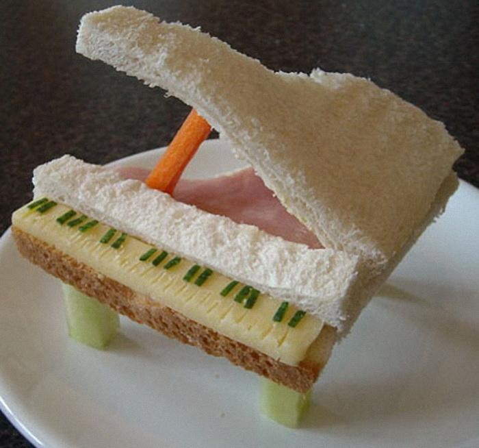 Рецепт необычных бутербродов