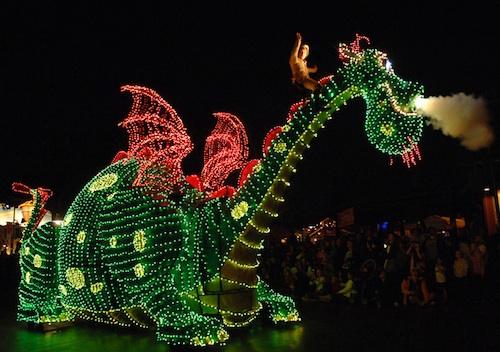 Китайские новогодние драконы