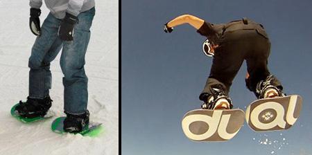 Двойной сноуборд