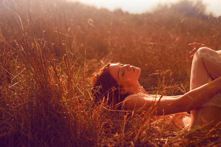 красивые фото девушек на природе