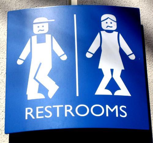 Значки туалетов