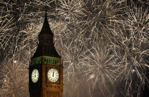 Как мир встретил Новый 2012 год