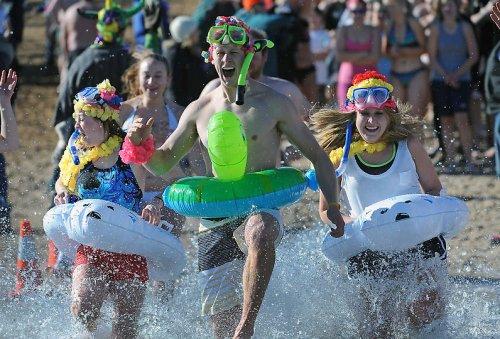 Новогодний заплыв в Колорадо