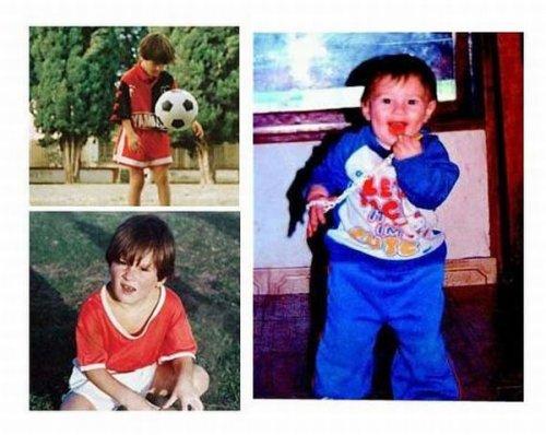 Звезды футбола тогда и сейчас