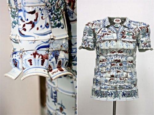 Фарфоровая одежда от Ли Сяофэн