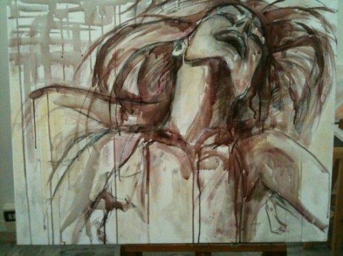 Картины, написанные вином