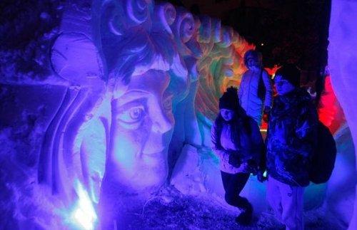 Шоу льда и снега в Сокольниках
