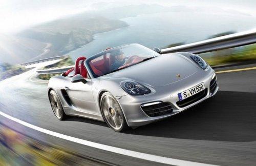 Обновлённый Porsche Boxster