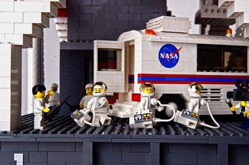 Ракета из LEGO