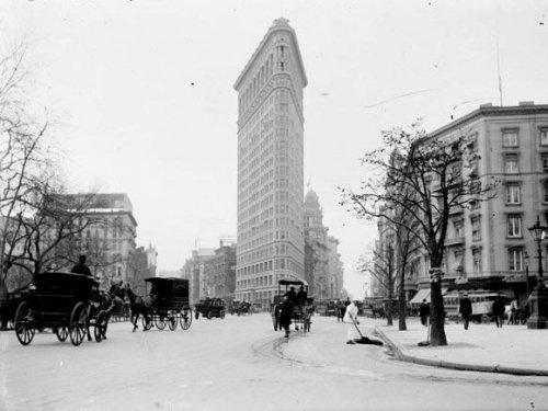 Фото старого Нью-Йорка