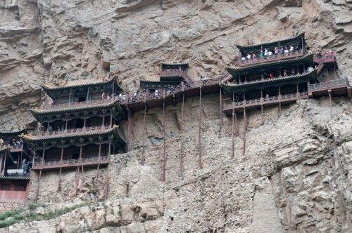 Висячий храм под горой Хэн