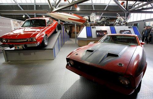 Выставка «Автомобили Джеймса Бонда»