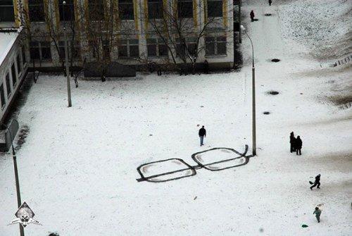 Стрит-арт от Павла Пухова