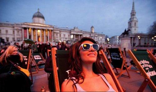 В Лондоне солнце встало на час раньше