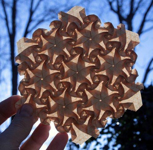 Оригами-маски от Джоэл Купер