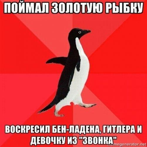 Злобный пингвин