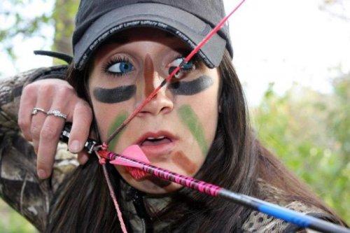 Мелисса Бахман - ведущая передачи про охоту