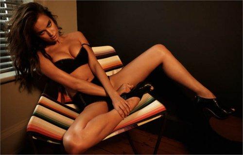 Ирина Шейк в журнале Esquire UK
