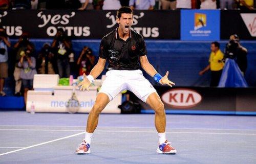 Новак Джокович отметил победу