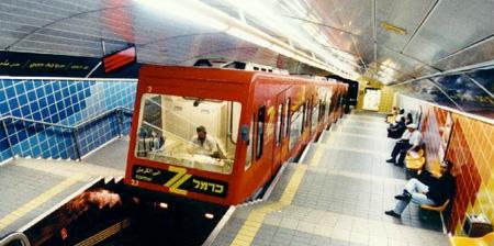 Кармелит - одна из самых коротких систем метро в мире