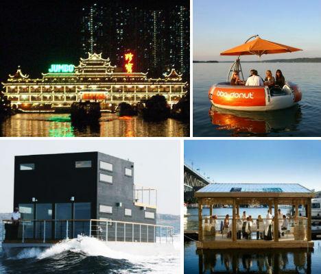 Топ-10: Лучшие рыбные рестораны на воде