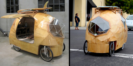 Электромобиль-палатка