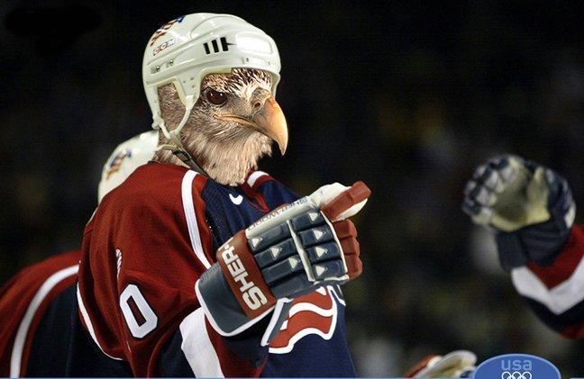 Смешная картинка хоккеиста занявшее 4 место